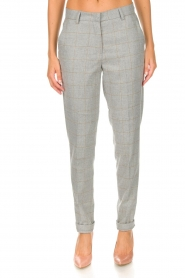 Knit-ted |  Trousers Anke | grey  | Picture 3