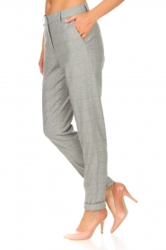 Knit-ted |  Trousers Anke | grey  | Picture 5