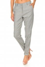 Knit-ted |  Trousers Anke | grey  | Picture 4