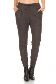 Knit-ted |  Sweatpants Amee | grey  | Picture 3