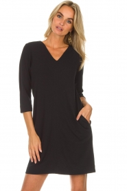 Knit-ted |  Dress Farah | black  | Picture 4