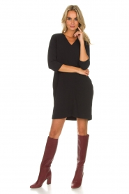 Knit-ted |  Dress Farah | black  | Picture 7