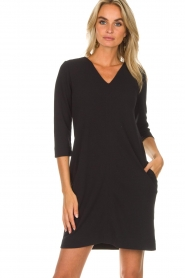 Knit-ted |  Dress Farah | black  | Picture 2