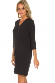 Knit-ted |  Dress Farah | black  | Picture 5