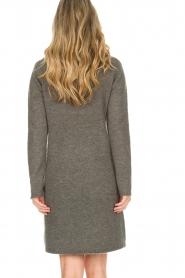 Knit-ted | Trui jurk Talja | grijs  | Afbeelding 5