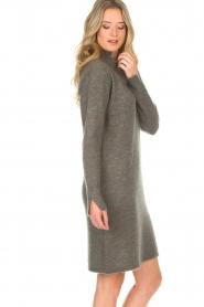 Knit-ted | Trui jurk Talja | grijs  | Afbeelding 6