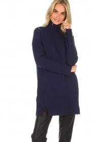 Knit-ted | Tuniekjurk Taylor | blauw  | Afbeelding 2