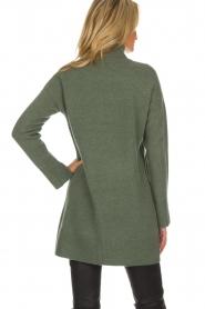 Knit-ted | Tuniekjurk Taylor | groen  | Afbeelding 5