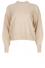 Knit-ted |  Sweater Tooske | beige  | Picture 1