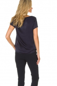 Knit-ted |  Top Angela | navy  | Picture 5