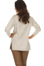 Knit-ted | Trui Tiffany | beige  | Afbeelding 5