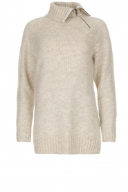 Knit-ted | Trui Tiffany | beige  | Afbeelding 1