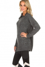 Knit-ted |  Sweater Tiffany | grey  | Picture 4