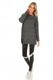 Knit-ted |  Sweater Tiffany | grey  | Picture 3