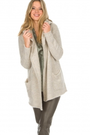 Knit-ted |  Cardigan Tori | beige  | Picture 2