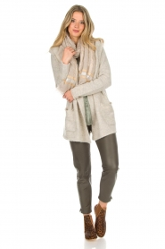 Knit-ted |  Cardigan Tori | beige  | Picture 3