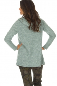 Knit-ted |  Cardigan Tori | green  | Picture 6
