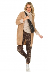 Knit-ted |  Cardigan Tess | camel  | Picture 3