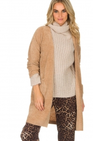 Knit-ted |  Cardigan Tess | camel  | Picture 2