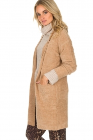 Knit-ted |  Cardigan Tess | camel  | Picture 4