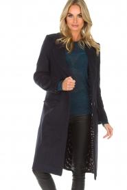 Knit-ted | Coat Vivienne | blue  | Picture 2