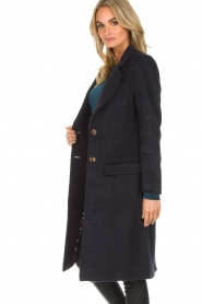Knit-ted | Coat Vivienne | blue  | Picture 6