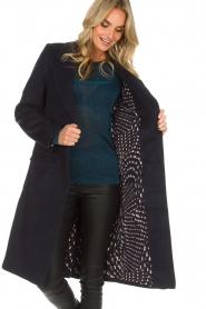 Knit-ted | Coat Vivienne | blue  | Picture 4