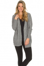 Knit-ted |  Cardigan Tatiana | grey  | Picture 6