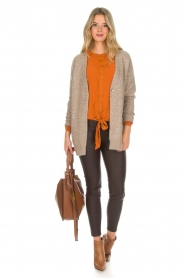 Knit-ted | Vest Tatiana | beige  | Afbeelding 3