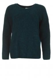 Knit-ted | Trui Tatum | groen  | Afbeelding 1
