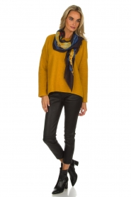 Knit-ted | Trui Tatum | geel  | Afbeelding 3