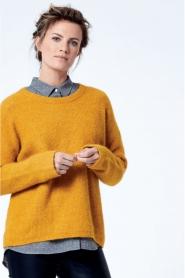 Knit-ted | Trui Tatum | geel  | Afbeelding 6
