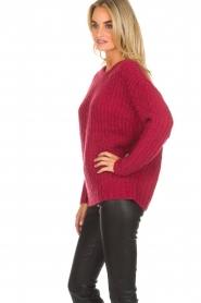 Knit-ted |  Sweater Tyra | red  | Picture 4