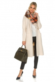 Knit-ted |  Long cardigan Trixie | natural  | Picture 3