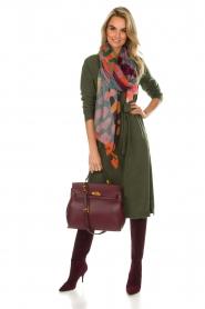 Knit-ted | Jurk Tamara | groen  | Afbeelding 3
