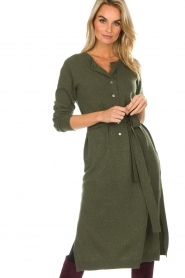 Knit-ted | Jurk Tamara | groen  | Afbeelding 5