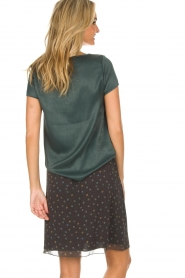 Knit-ted | Basic top Angela | groen  | Afbeelding 5