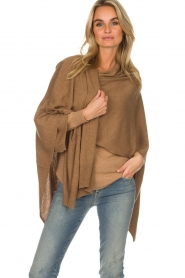 Knit-ted |  Poncho Tara | camel  | Picture 2
