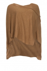 Knit-ted |  Poncho Tara | camel  | Picture 1