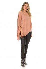 Knit-ted |  Poncho Tara | pink  | Picture 3