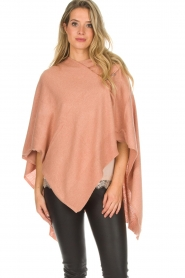 Knit-ted |  Poncho Tara | pink  | Picture 2