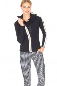 Par 69 |  Golf jacket Borg | blue  | Picture 2