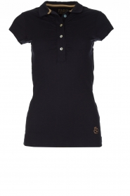 Par 69 |  Golf polo Bien | blue  | Picture 1