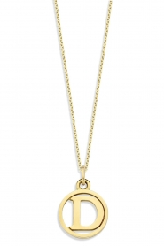 Just Franky |  14k golden necklace Charm  42-44 cm | yellow gold  | Picture 2