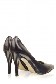 Noe |  Leather pumps Nicole | dark blue  | Picture 5