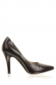 Noe |  Leather pumps Nicole | black  | Picture 1