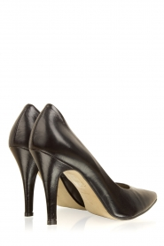 Noe |  Leather pumps Nicole | black  | Picture 4