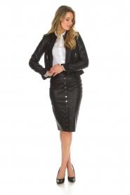 Noe |  Leather pumps Nicole | black  | Picture 2
