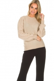 American Vintage | Woolen sweater Charlotte | natural  | Picture 2