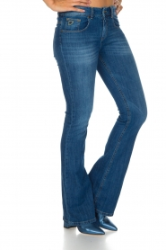 Lois Jeans |  Flared jeans Melrose length L32 | Blue  | Picture 4